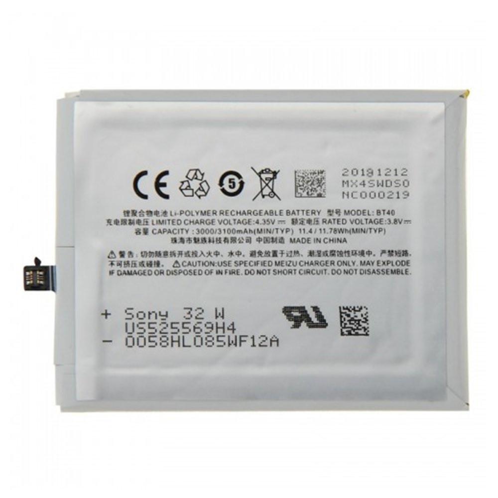Акумулятор BT40 для  Meizu MX4, 3100 мАг