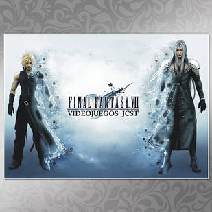 Плакат Аниме Final Fantasy 01