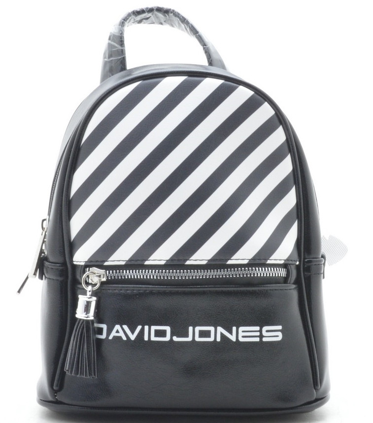 47bc7f50fce6 Женский рюкзак David Jones 5965-4 black Сумки и рюкзаки David Jones (Дэвид  Джонс) купить
