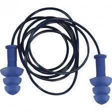 Упаковка с 10 парами Delta ПУ берушей с пластиковым шнурком.