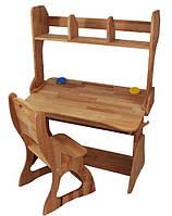 Комплект Парта+стул+надстройка (90 см) ТМ Mobler