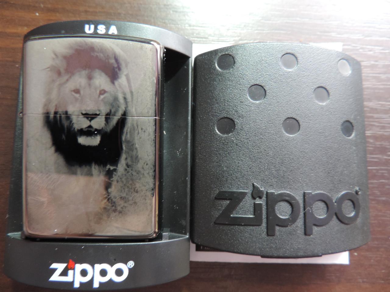 Зажигалка Zippo -Lion, копия
