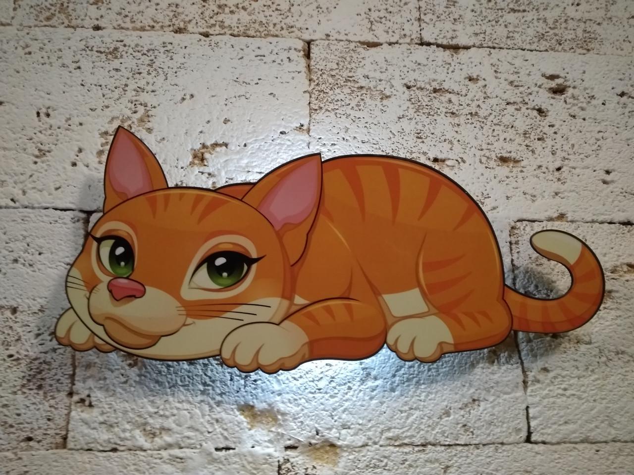 """Светильник """"CatWall"""" Рыжик"""