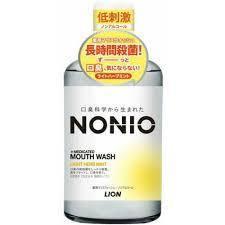 """Ополіскувач для порожнини рота з освіжаючим ефектом, легкий аромат м'яти і трав LION """"Nonio"""" (259398), фото 2"""