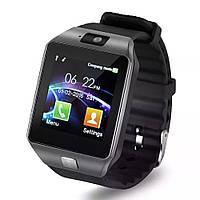 Смарт часы DZ09 Smart watch с Sim-картой, Bluetooth, камерой и сенсорным экраном. Умные часы Uwatch