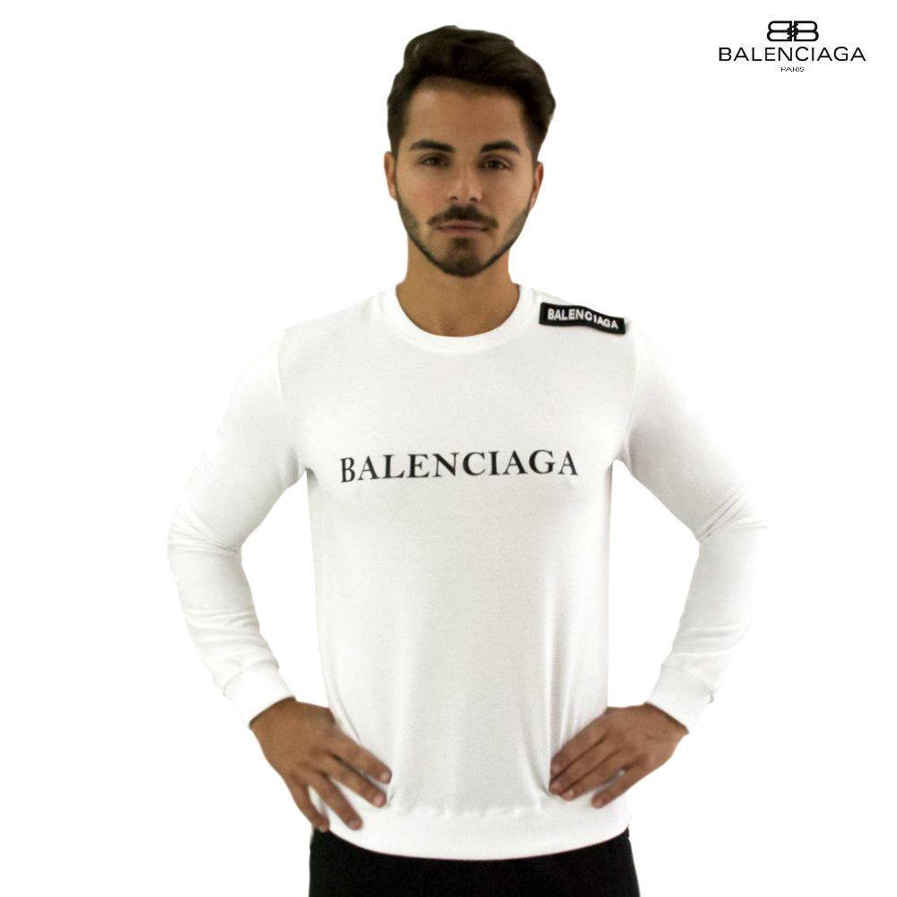 Мужской Cвитшот реплика Balenciaga. Мужская одежда