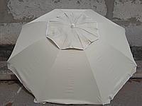 Пляжний зонт 1,8 м клапан нахил чохол червоний - фото 3