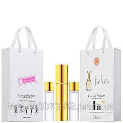 Мини-парфюм женский Christian Dior Jadore, 3х15 мл