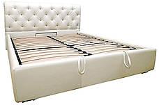 """Кровать Лондон (с пуговицами) (комплектация """"Комфорт"""") с подъем.мех., фото 2"""