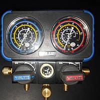 Манометрический коллектор двухвентильный  VALUE VRM2-B-401- для измерения давление фреона  и давление вакуума