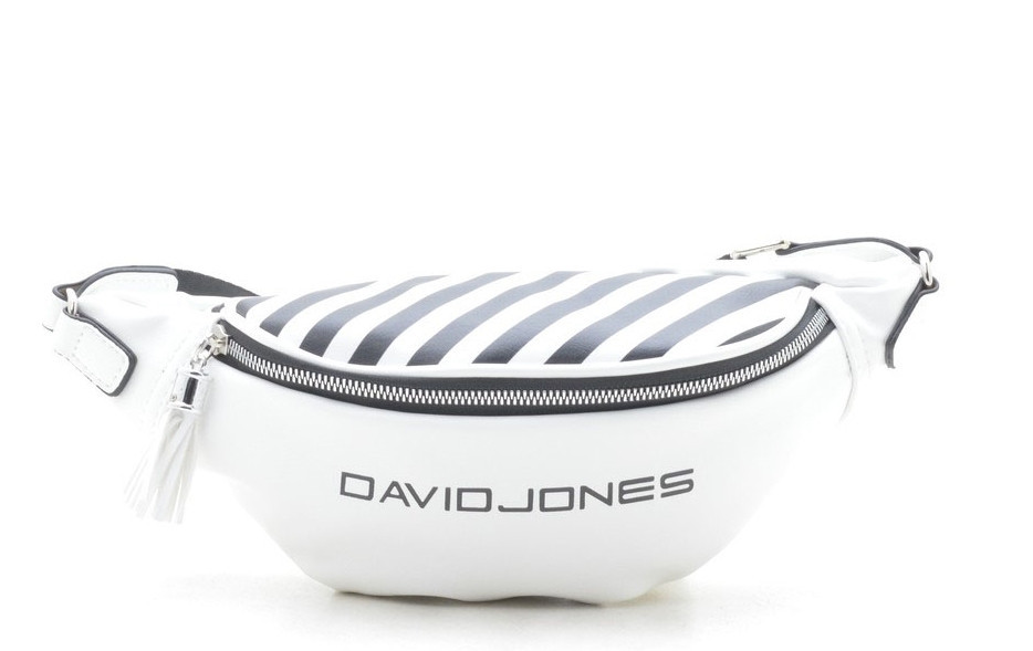 a70d356f215a Клатч бананка David Jones 5965-1 white брендовый клатч на пояс-бананки  ДЕВИД ДЖОНС