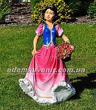 Садовая фигура Белоснежка и Семь гномов больших, фото 2