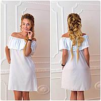 Платье 786 белое, фото 1