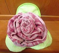Оригинальный подарок на любой праздник - Роза из махрового полотенца