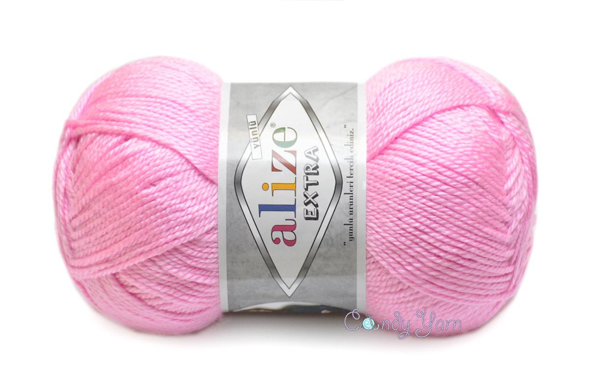 Alize Extra, Розовый леденец №191