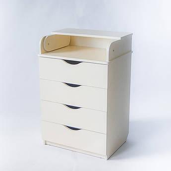 Комод-пеленатор ваниль