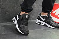 fad5f7d8 Мужские кроссовки черные с белым Nike Air Max 2 Light 7050 (кроссовки найк  ейр макс
