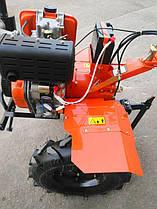 Мотоблок ТАТА ТТ-1100AE-ZX (редукторный), двигатель 178FE (6 л.с.) - дизель 10113