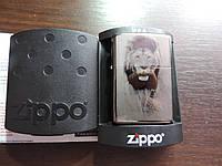 """Зажигалка бензиновая Zippo """"lion"""" копия, фото 1"""