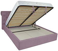 """Кровать Лондон (с пуговицами) (комплектация """"VIP"""") с подъем.мех., фото 3"""