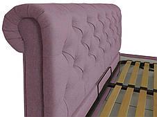 """Кровать Лондон (с пуговицами) (комплектация """"VIP"""") с подъем.мех., фото 2"""
