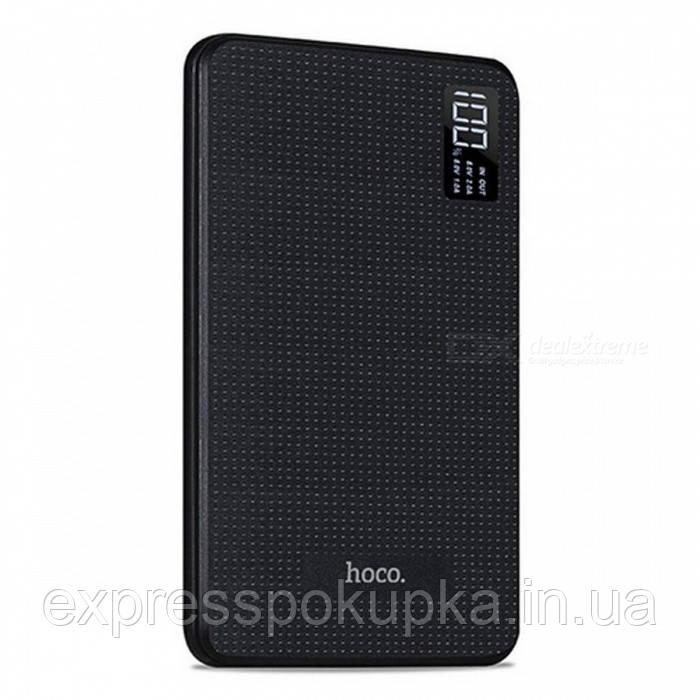 Портативный аккумулятор Power Bank HOCO B24 30000 mAh Black