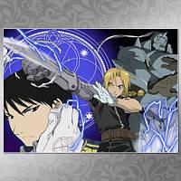 Плакат Fullmetal Alchemist 012