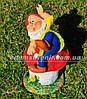 Садовая фигура Гном грибник малый и Гном на мухоморе малый, фото 3