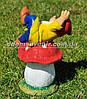 Садовая фигура Гном грибник малый и Гном на мухоморе малый, фото 6