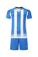 Футбольная форма игровая Europaw 020 (бело-голубая), фото 1