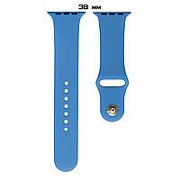 Ремешок Apple Watch Silicone 38/40mm ( 3) Ocean blue