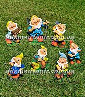 Садовая фигура Семь гномов