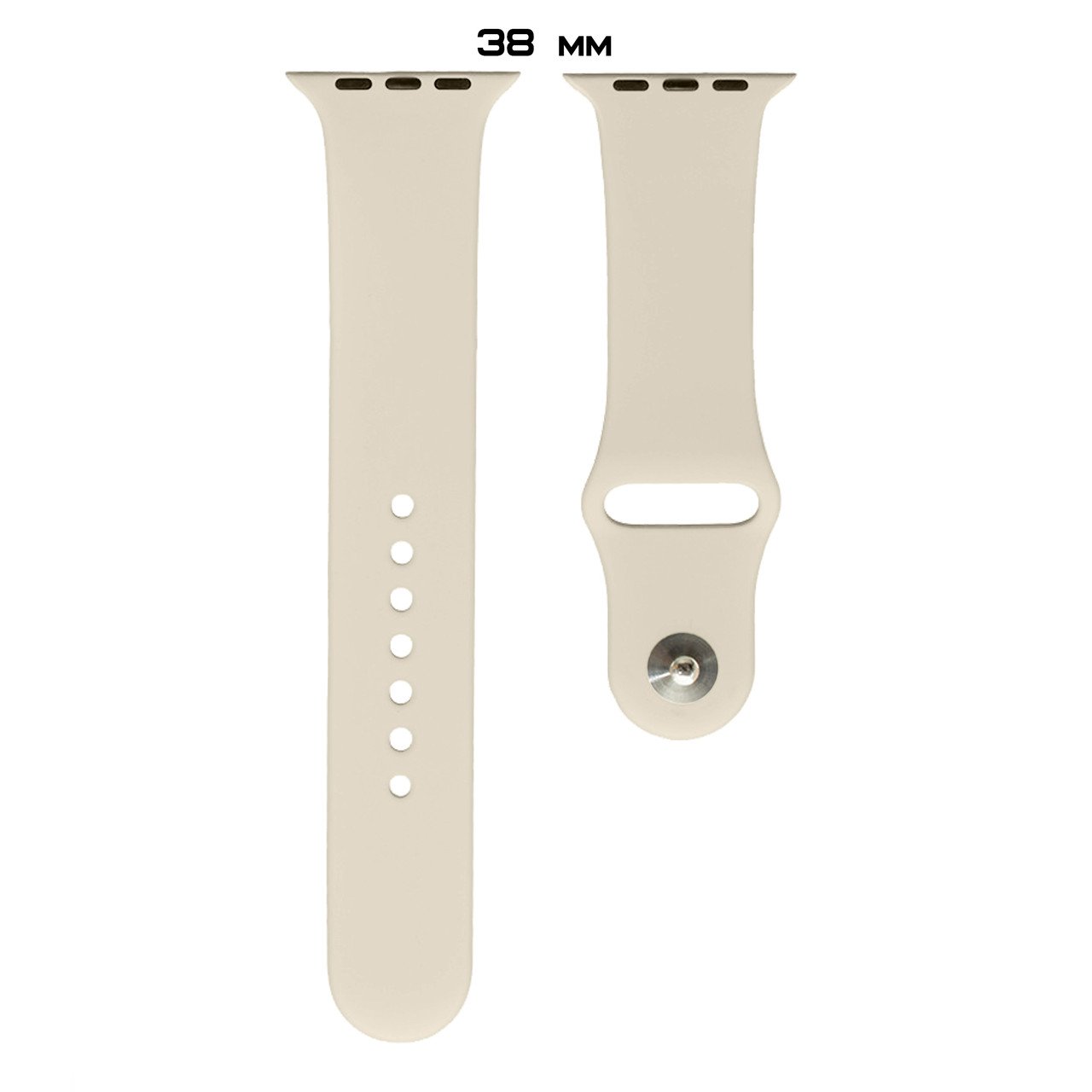 Ремешок Apple Watch Silicone 38/40mm (11) Antique white