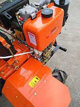 Мотоблок ТАТА TT-1100AZX (редукторный), двигатель178FE (6 л.с.) - дизель 10112