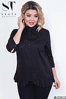 Женская модная рубашка  СК1721/1 (бат), фото 1