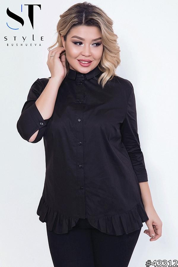 Женская модная рубашка  СК1721/1 (бат)