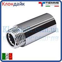 Удлинитель латунный хромированный TIEMME 50мм 3/4Нx3/4В