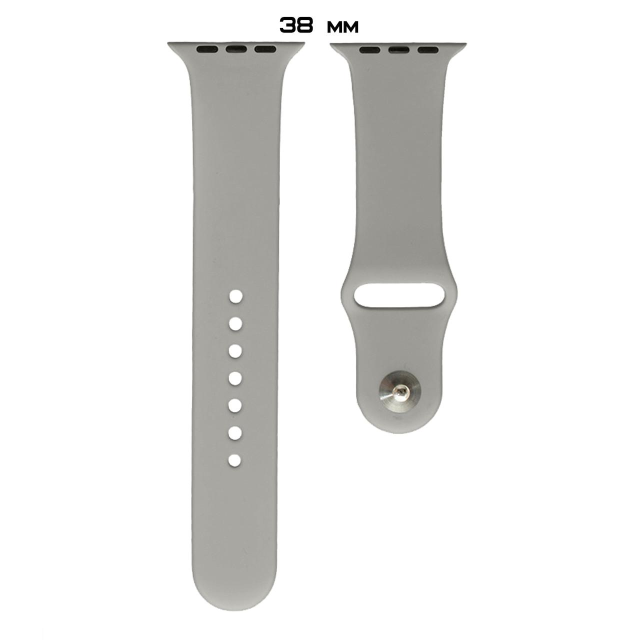 Ремешок Apple Watch Silicone 38/40mm (23) Pebble