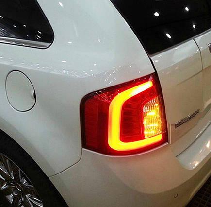 Штатна 2009 по 2013 рік для Ford Edge LED задня оптикаѕ червоний колір, фото 2