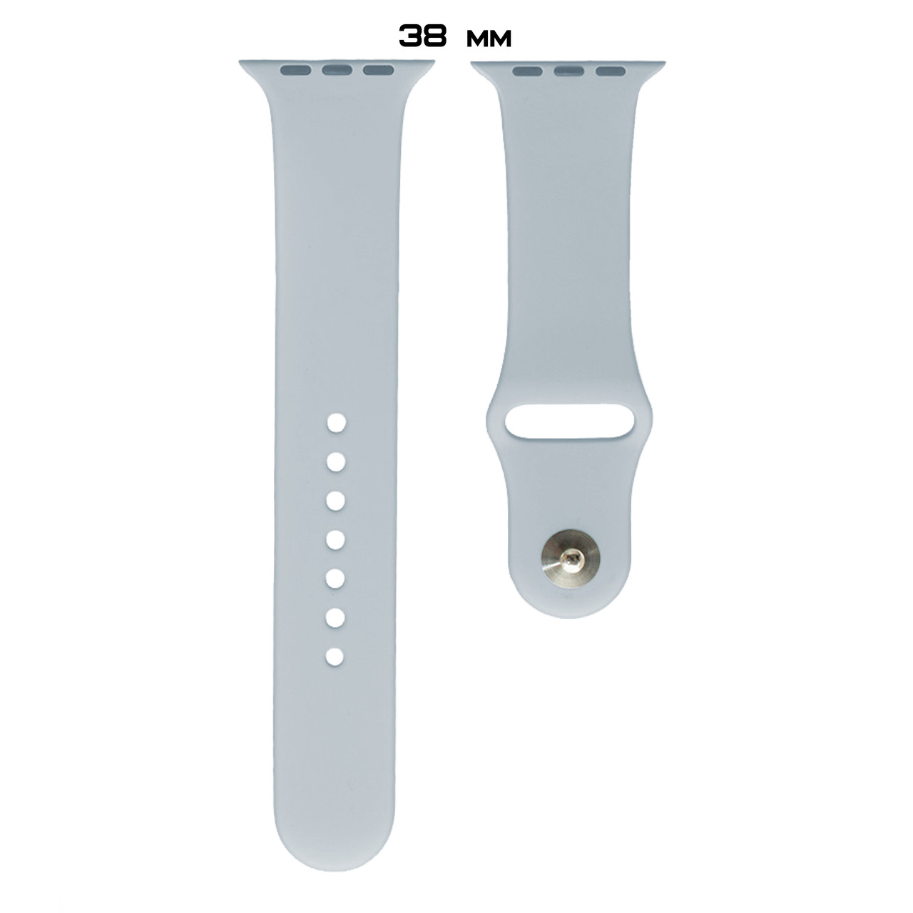 Ремешок Apple Watch Silicone 38/40mm (26) Mist blue