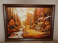 Картина из янтаря Пейзаж № 14