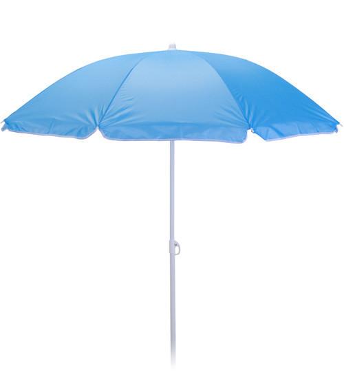 Зонт пляжный круглый, диаметр 1,7 метра, с системой ромашка