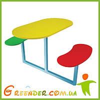 """Игровой столик на детскую игровую площадку """"Пикник"""""""