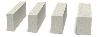 Перегородочный газобетон гладкий, паз-гребень Стоунлайт D400 / D500, фото 2