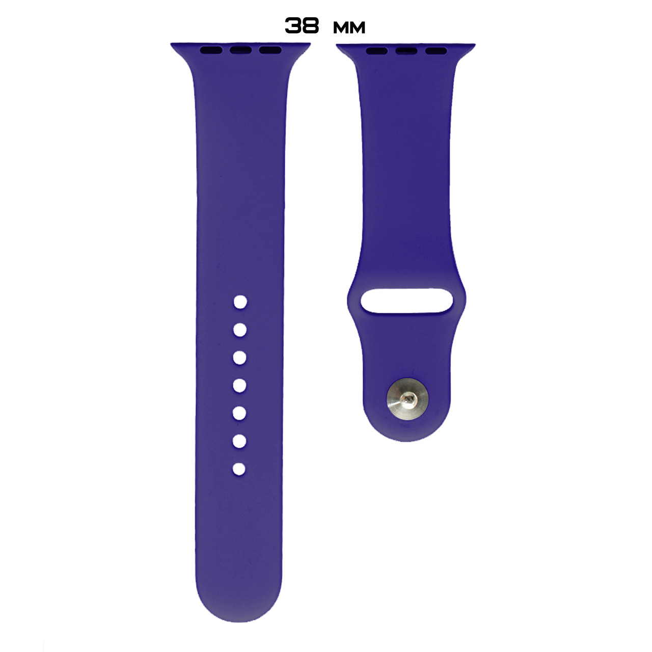 Ремешок Apple Watch Silicone 38/40mm (30) Ultra violet