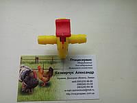 Кран-клапан для ниппельного поения, фото 1