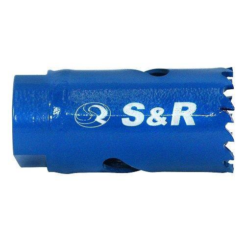 Биметаллическая кольцевая пила S&R 79 x 38