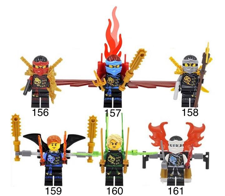 Новые Минифигурки ниндзяго ninjago Лего Lego Гармадон брелок фигурки дяпчики Garmadon кай ллойд