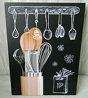 Картина Кухонне приладдя Картина Кухонные принадлежности