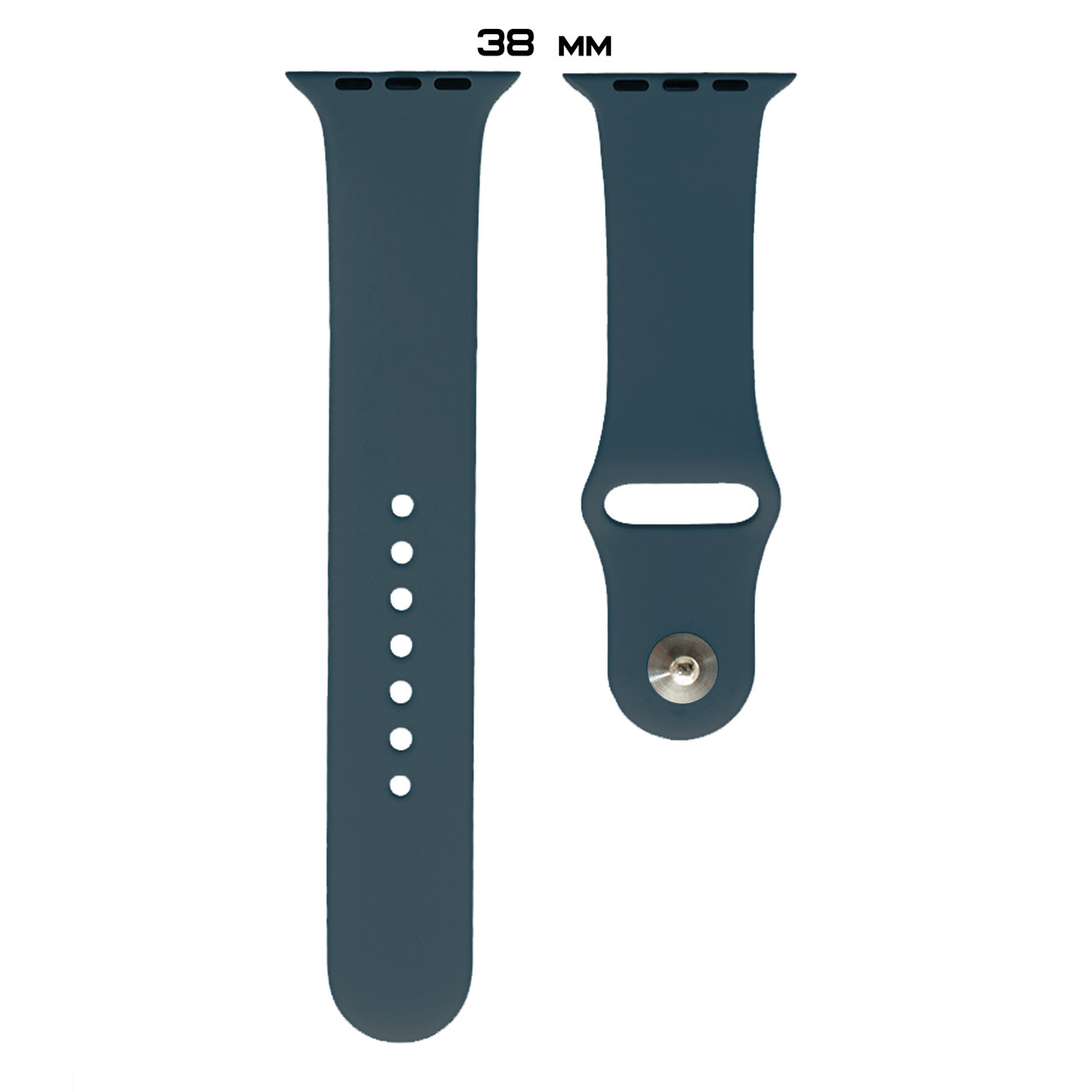 Ремешок Apple Watch Silicone 38/40mm (35) Cosmos blue